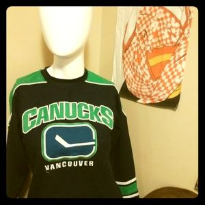 3/$35- Small Vancouver Canucks Jersey